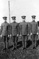 Leggings known as puttees were part of the World War I military uniform of American soldiers.