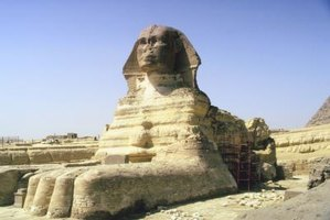 The sphinx pushup is modeled after the lying position of the Sphinx statue.