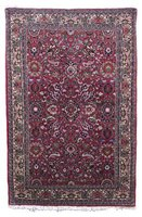 Get up close and personal with your Persian style rug to determine if it is truly antique.