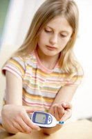 Treating diabetes helps regulate the child's weight.