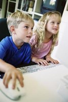 Parents have to set rules to limit the time children spend online.