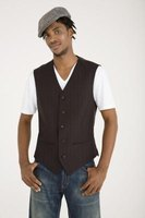 Pairing your newsboy cap with a vest gives you an outfit with plenty of vintage flair.