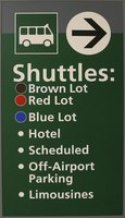Shuttles are used for hotels, parking lots and private pickup and dropoffs.
