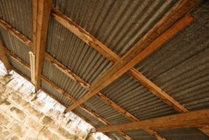 How To Use Tin Roofing Sheets For Walls Ehow