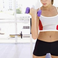 Lifting weights is one way to build muscle and increase the rate at which your body burns fat.