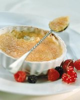 Silky desserts, such as creme brulee, tend to go well with milk stout.