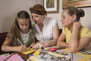 Craft faith-based scrapbooks and simultaneously share God's love with family.