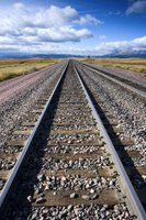 Railroad spikes distinguish pieces of carpentry, giving them a distinctive twist.