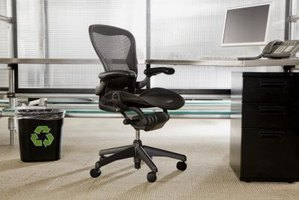 Adjust your office chair to be more comfortable as you work.