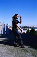 Tai chi is a fighting art, but quite different from krav maga.