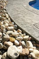Rocks can add to the aesthetic look of a property.
