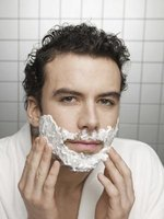 Shaving cream provides a closer and more comfortable shave.