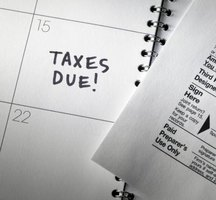Federal income tax returns are due April 15 each year.