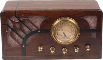 Vintage radios use electronic valves for amplification and tuning.