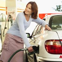 Gasoline is a liquid derived from petroleum.