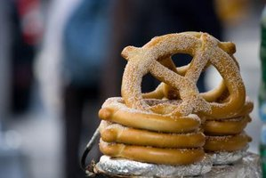 The pretzel was introduced in the United States in the region now known as Pennsylvania.