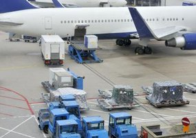 It is very difficult for would-be thieves to gain access to air freight.