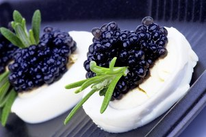 How to eat caviar ehow for Caviar comes from what fish