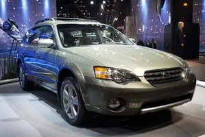 How To Locate the Paint Code on a Subaru Outback
