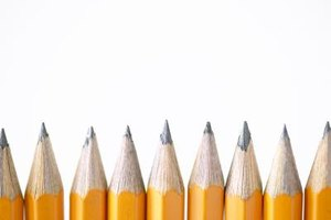 Using a sharp pencil maximizes the surface area of the pencil lead.