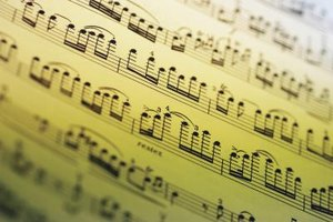 Changing a piece of music's key and time signature can alter its mood and tone.
