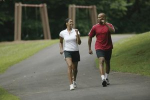 A walking partner helps keep you on track with your exercise goals.