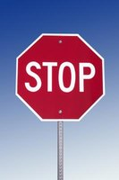 The humble stop sign -- an elegant example of functional text -- conveys its message in a single word.