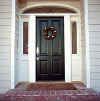 "A properly-maintained front door helps your home's entryway say ""welcome."""