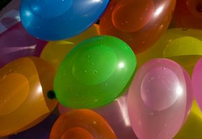 Water ballons are a wet accident waiting to happen.