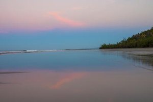 Costa Rica is known for long stretches of pristine beach.