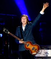 Ex-Beatle Paul McCartney scored 1980s success with Wings and two duets.
