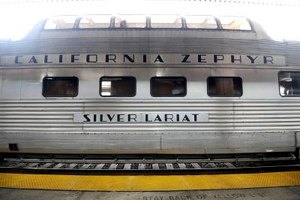 If you live on the West Coast, consider a trip on the California Zephyr.