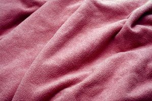 A close-up of a blanket.