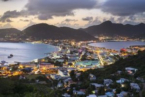 "The Dutch spell their portion of the island ""St. Maarten."""