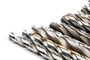 Choose drill bits based on type of material you bore through.