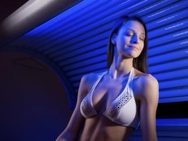 UV lights like those found in tanning beds can cause mercury contamination.