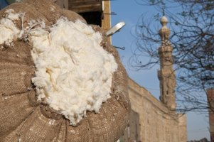More than 80,000 tons of long-fiber Egyptian cotton bales are exported from Cairo annually.