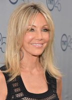 Blue-eyed, blonde actress Heather Locklear at TNT'S 25th Anniversary Party in 2014