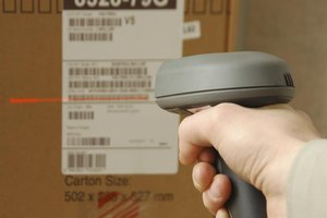 Scanning a barcode with a SKU number