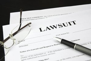 Negligence lawsuits are common in U.S. courts.