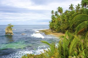 Beach in Costa Rica.