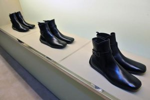 Some Prada footwear was on display at a fundraising event in September 2011 in New York.