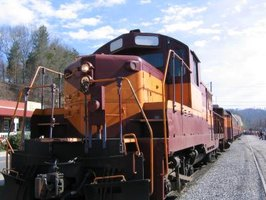 The Great Smoky Mountains Railroad has been in operation for many years.