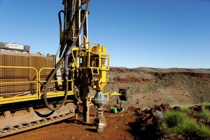 Diamond drilling is an essential part of mineral exploration.