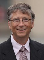 Bill Gates founded Microsoft, the company that manufactures the Excel program.