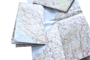 Use a road map if you don't have GPS.