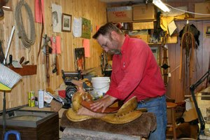 Making a Western Saddle