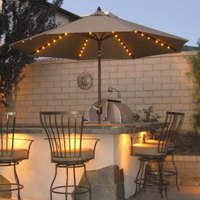 A Backyard BBQ Patio
