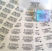 Clear Waterproof Labels
