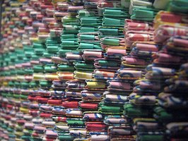 Gum Wrapper Chain Image by thunt77 on Flickr
